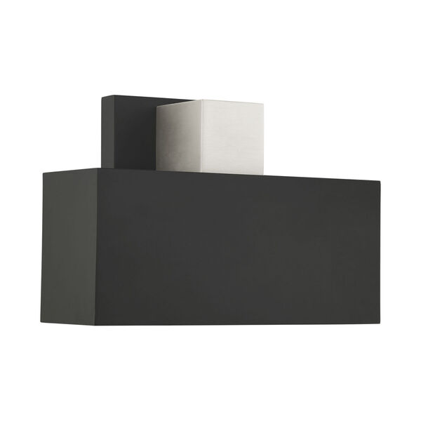 Lynx Black One-Light Outdoor ADA Wall Sconce, image 4