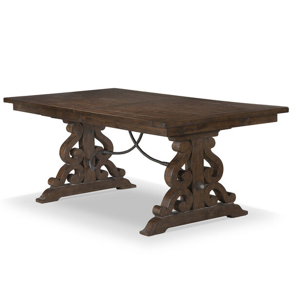 St. Claire Rectangular Dining Table in Rustic Pine, image 1