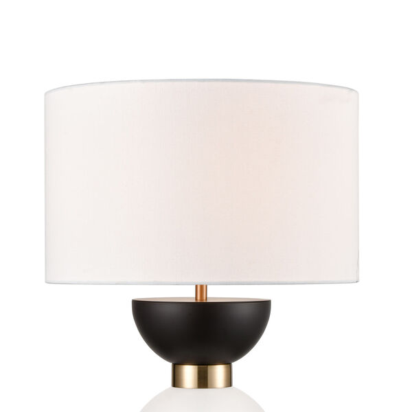 Softshot Oil Rubbed Bronze and Black One-Light Table Lamp, image 3