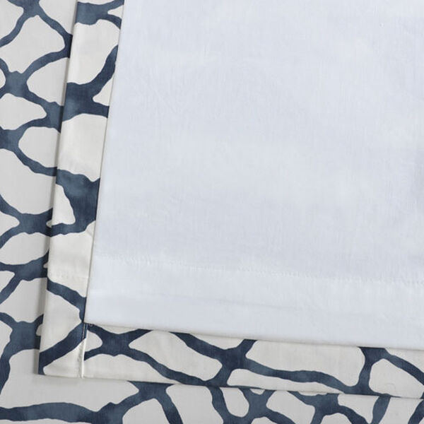 Ocean Blue 120 x 50 In. Printed Cotton Twill Curtain Single Panel, image 6