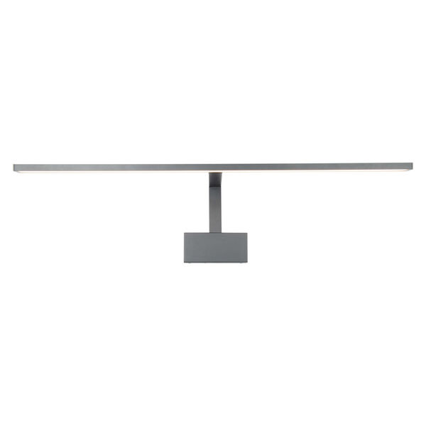 Uptown Brushed Nickel 25-Inch LED Picture Light, image 2