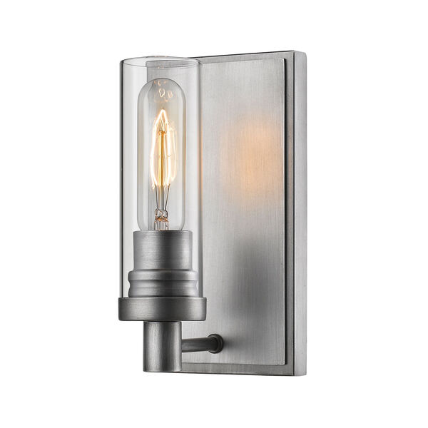 Persis Old Silver One-Light Wall Sconce, image 1