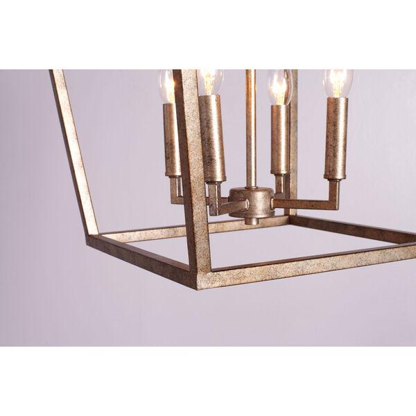 Vintage Gold 20-Inch Four-Light Pendant, image 3