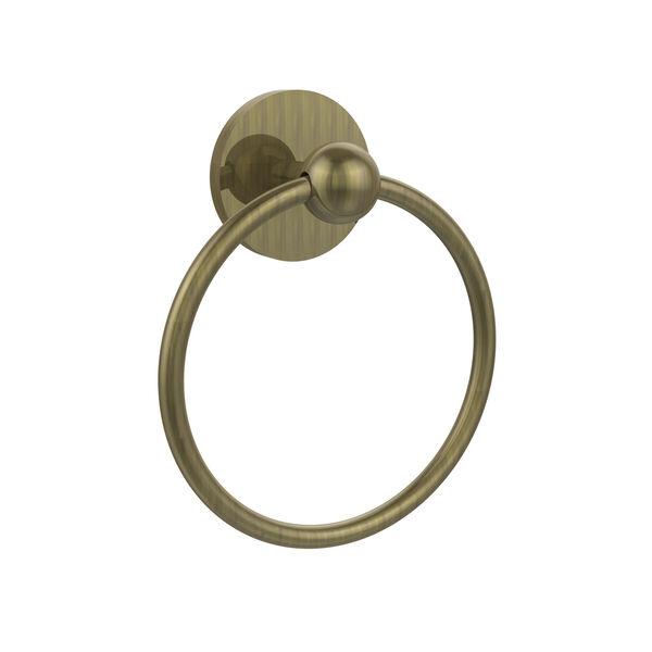 Prestige Skyline Antique Brass Towel Ring, image 1