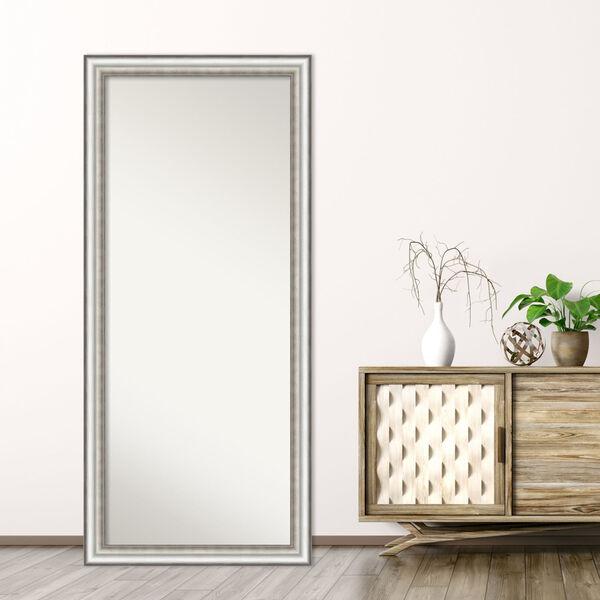 Salon Silver 29W X 65H-Inch Full Length Floor Leaner Mirror, image 6