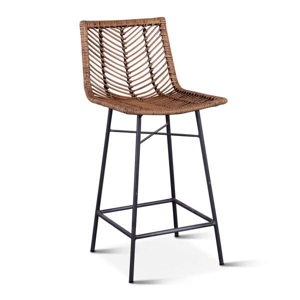 Bali Brown Honey Washed Bar Chair, Set of 2, image 2