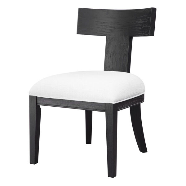 Idris Charcoal Black Accent Chair, image 4