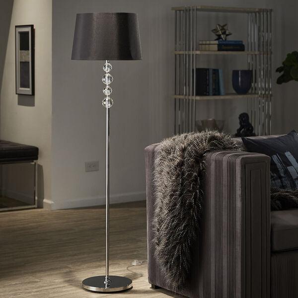 Janine Chrome One-Light Floor Lamp, image 6