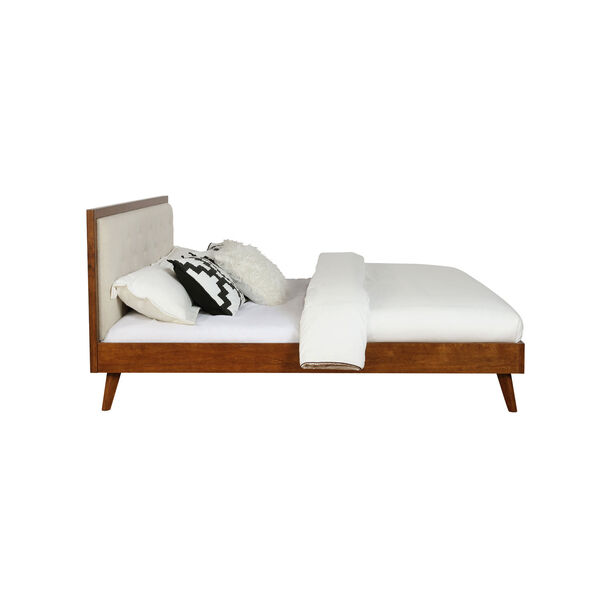 Ian Walnut Platform King Bed, image 3