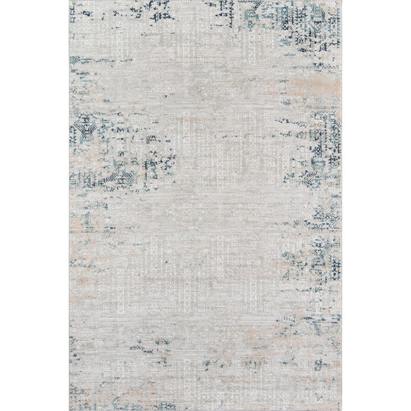 Genevieve Silver Rectangular: 1 Ft. 10 In. x 2 Ft. 10 In. Rug, image 1