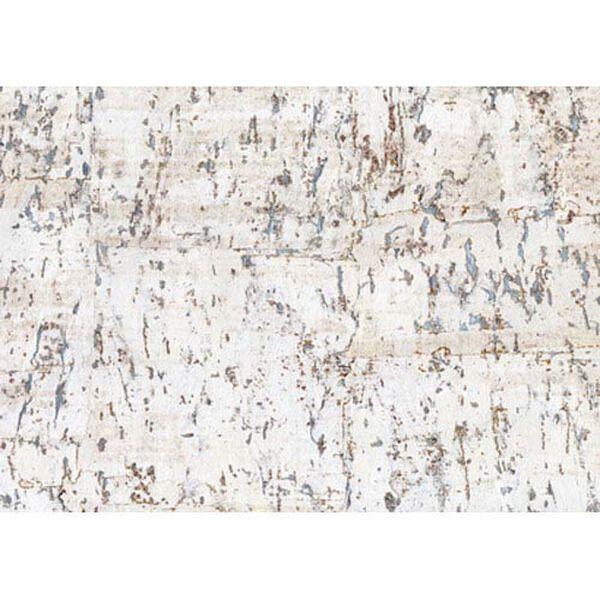 Candice Olson Dimensional Surfaces Cork on Metallic Wallpaper, image 1