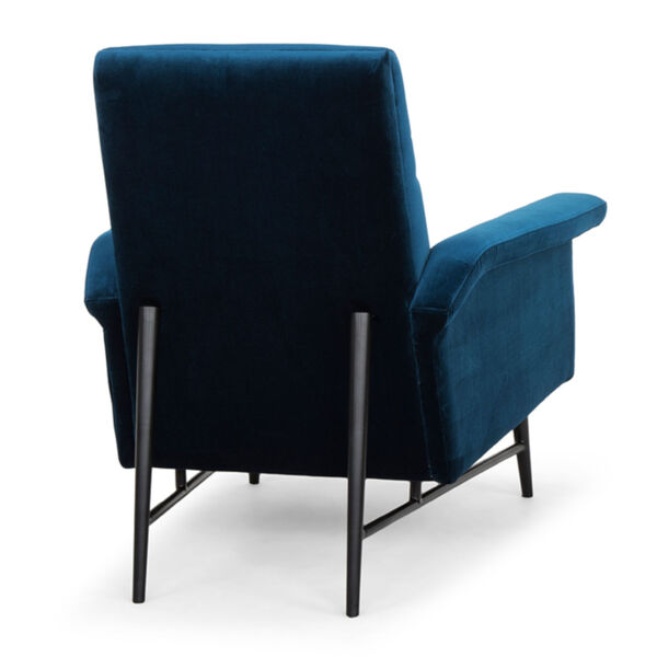 Mathise Midnight Blue and Black Occasional Chair, image 5