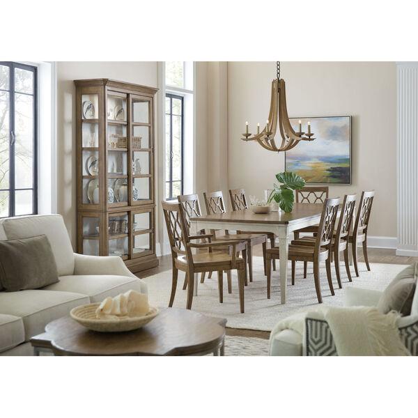 Montebello Carob Brown Side Chair, image 3