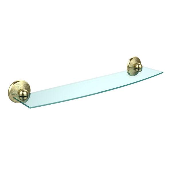 Monte Carlo Satin Brass Single Shelf , image 1
