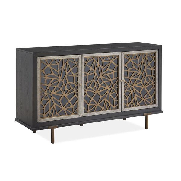 Ryker Black Cabinet, image 1
