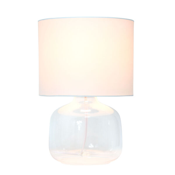 Cerise Clear White One-Light Table Lamp, image 2