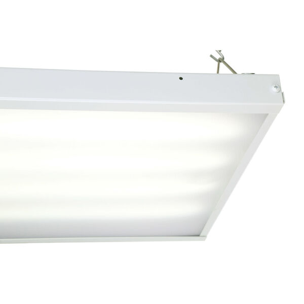 White 110W LED High Bay Hanging Light, image 2