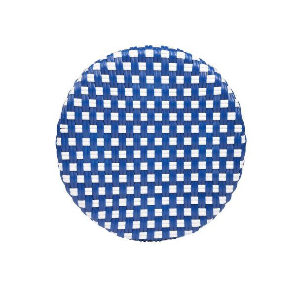 Tobias Sky Blue 16-Inch Round Counter Stool, image 5