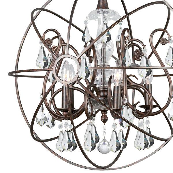 Solaris Five-Light English Bronze Chandelier, image 3
