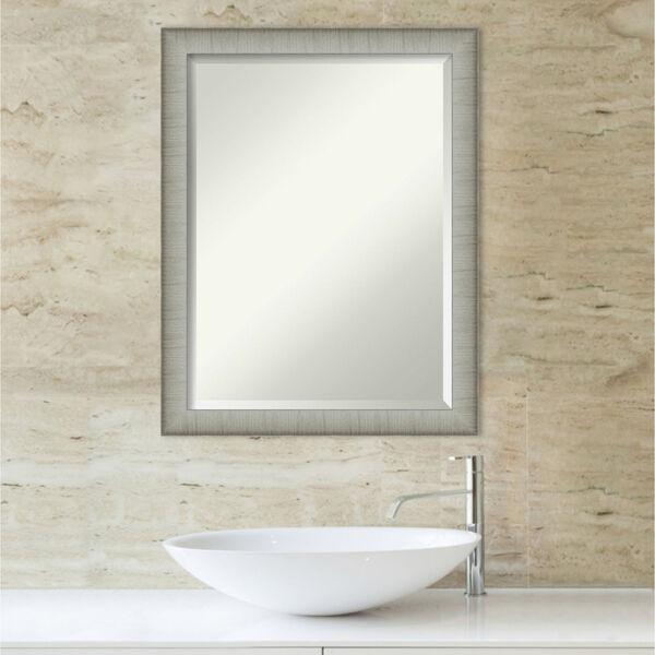 Elegant Pewter 21W X 27H-Inch Bathroom Vanity Wall Mirror, image 5