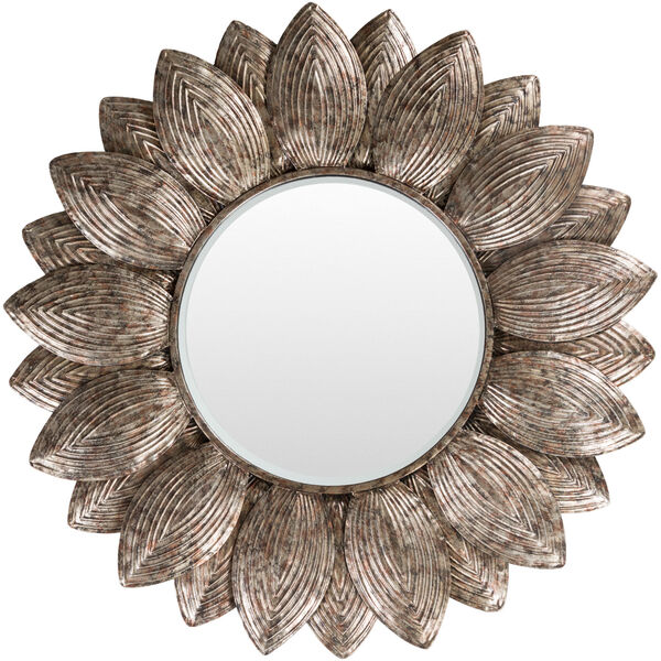 Helios Champagne Wall Mirror, image 1