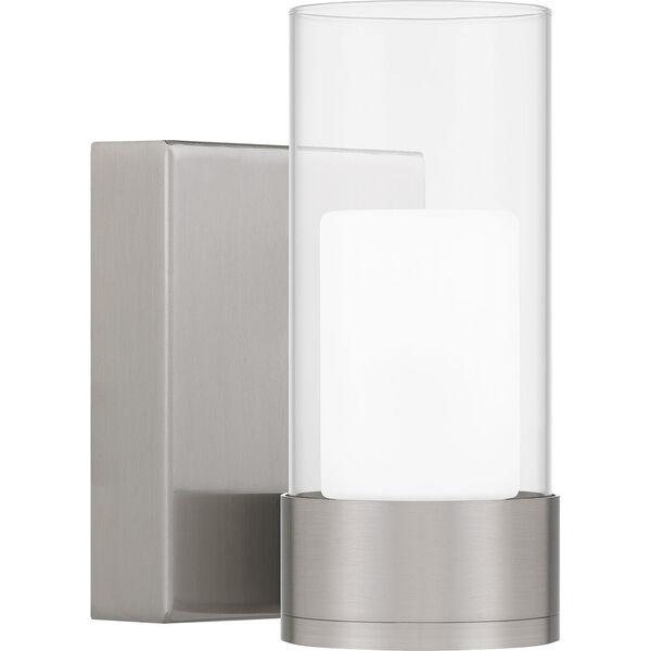 Logan Brushed Nickel LED Wall Sconce, image 1