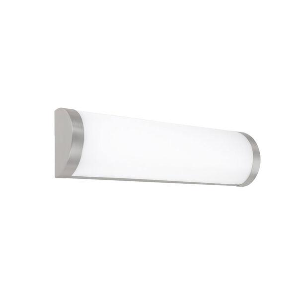 Fuse Brushed Nickel LED ADA Bath Bar, image 1