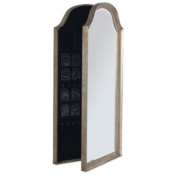 Alfresco Dark Taupe Floor Mirror, image 2
