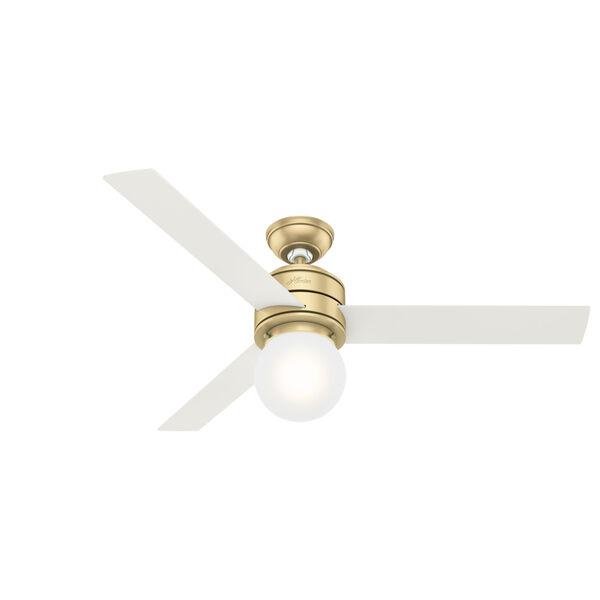 Allison Modern Brass 52-Inch LED Ceiling Fan, image 1