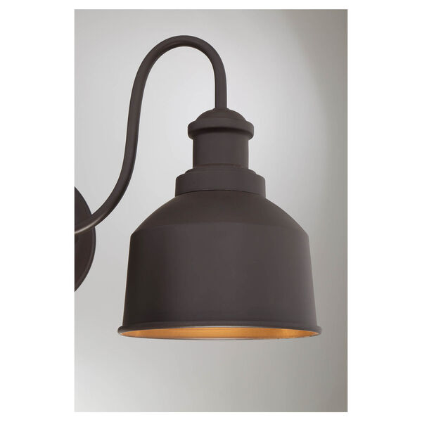 Lex Oil Rubbed Bronze Two-Light Outdoor Wall Sconce, image 5