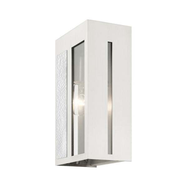 Lafayette Brushed Nickel Six-Inch One-Light Outdoor ADA Wall Sconce, image 5