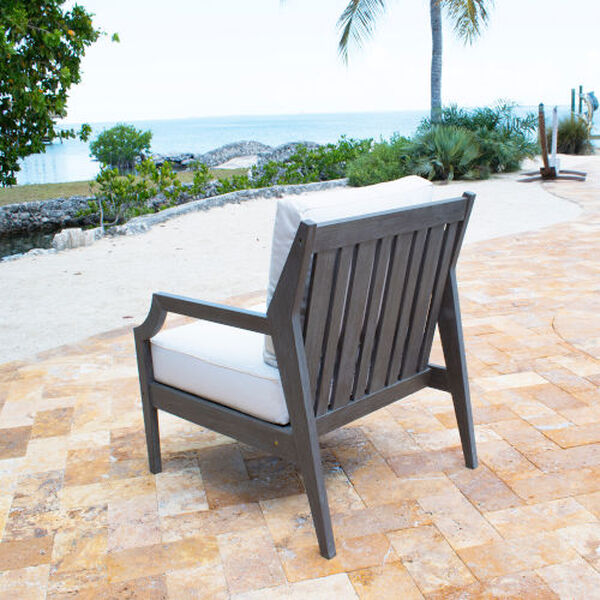 Poolside Outdoor Lounge Chair with Cushion, image 4