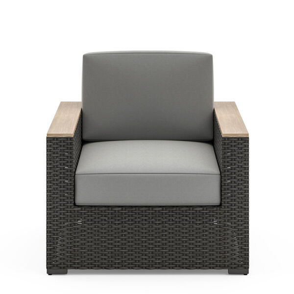 Boca Raton Brown Patio Arm Chair, image 3