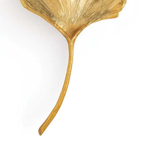 Ginkgo Gold Two-Light Wall Sconce, image 6