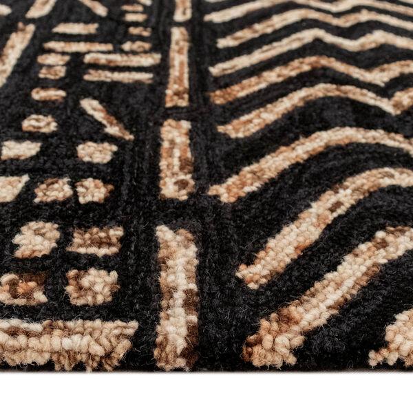 Liora Manne Cyprus Brown and Tan 7 Ft. 6 In. x 9 Ft. 6 In. Batik Indoor Rug, image 4