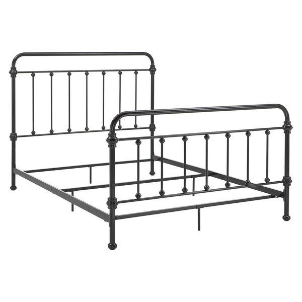 Nancy Black Metal Spindle Bed, image 4