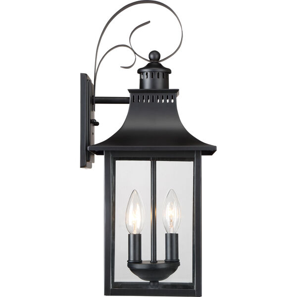 Chancellor Mystic Black Two-Light Outdoor Wall Sconce, image 4