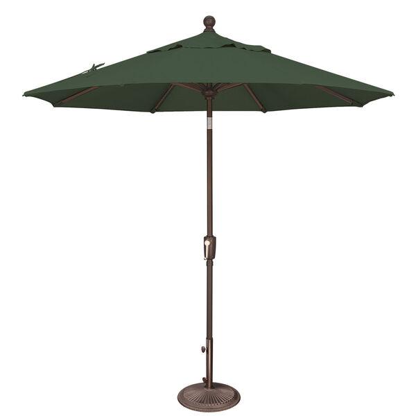 Catalina Forest Green 90-Inch  Market Umbrella, image 1