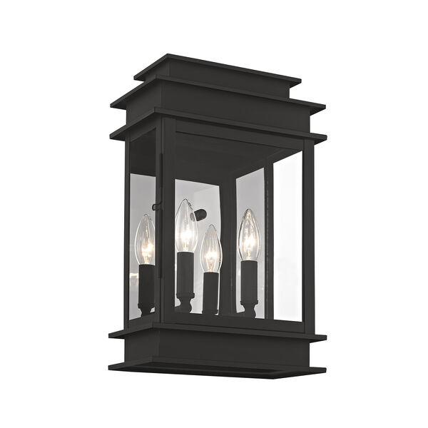 Princeton Black Two-Light 15-Inch Wall Lantern, image 3