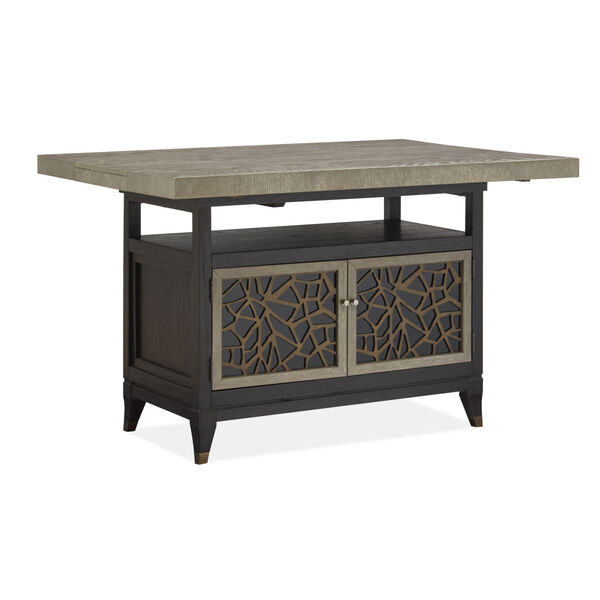Ryker Black Counter Height Dining Table, image 2
