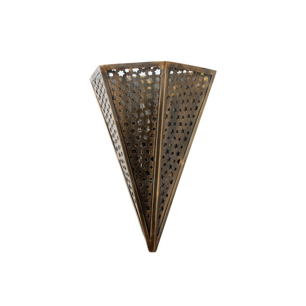 Star Of The East Old World Bronze 10-Inch One-Light ADA Wall Sconce, image 1