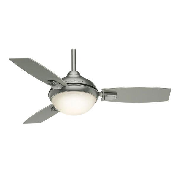 Verse Satin Nickel 44-Inch LED Ceiling Fan, image 1