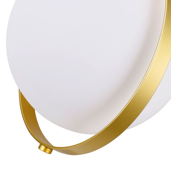 Da Vinci Brass 29-Inch LED Wall Sconce, image 5