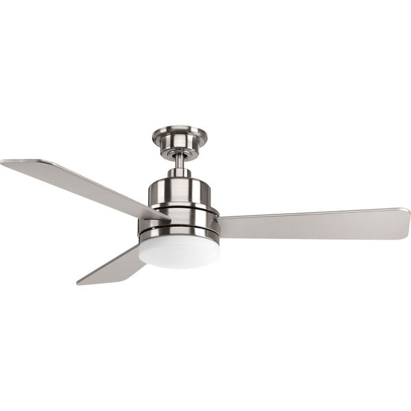 Trevina Brushed Nickel 52-Inch LED Ceiling Fan, image 1