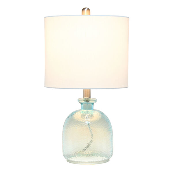 Cerise Clear Blue White One-Light Table Lamp, image 2