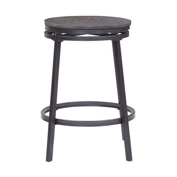 Chesson Gray Backless Counter Stool, image 3