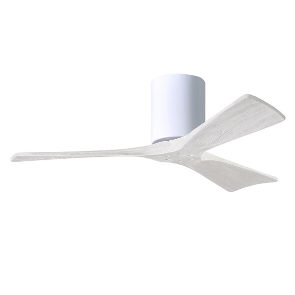 Irene-3H Gloss White 42-Inch Outdoor Ceiling Fan, image 3