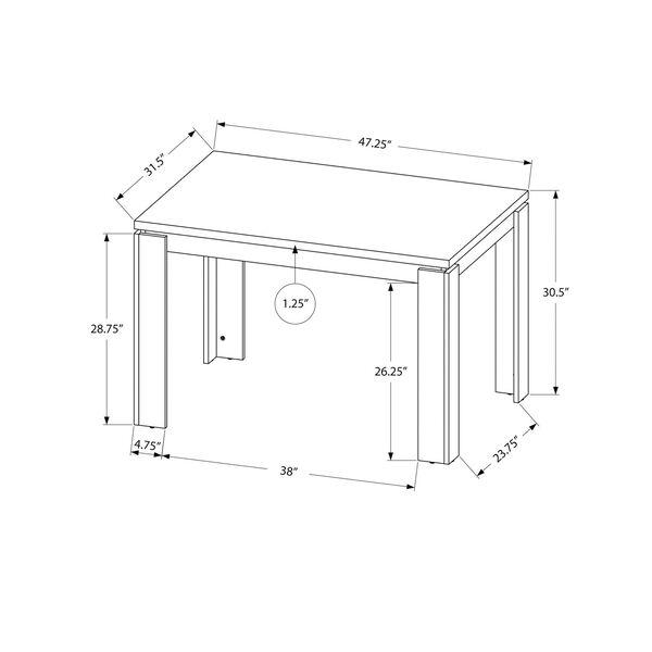 Rectangular Dining Table, image 4