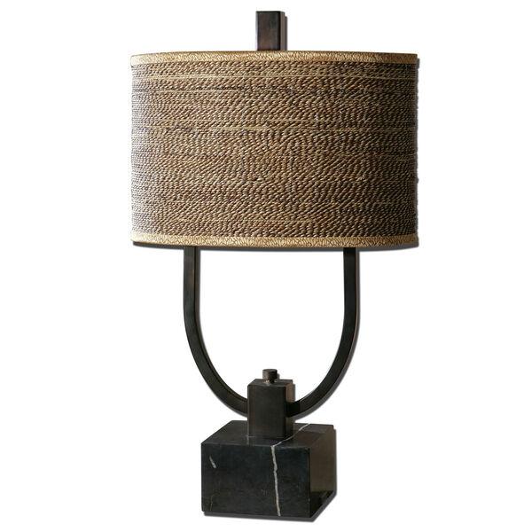 Stabina Rustic Bronze Table Lamp, image 1