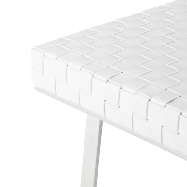 Karlee White and Silver Bench, image 4